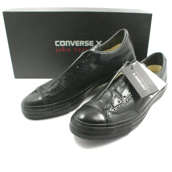 3bf46efc6e0b Converse X John Varvatos CTAS Vintage Black Brogue